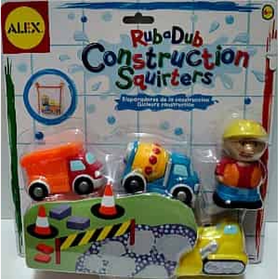 Alex rub-a-dub Gicleurs construction