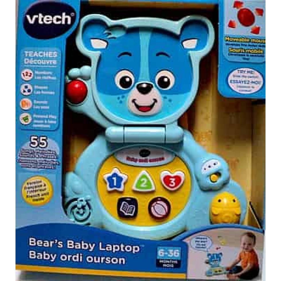 V-tech ordi ourson bleu