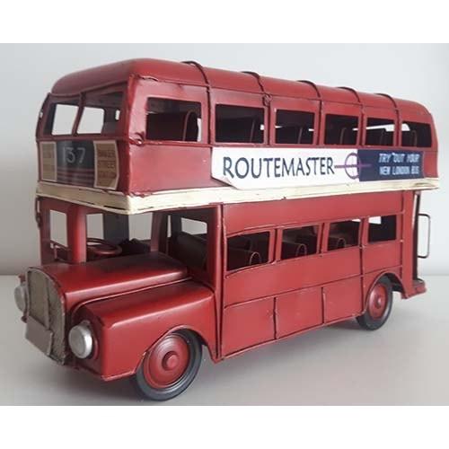 Autobus London métal rouge