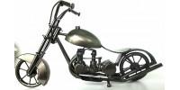 Bicycle à gaz en métal