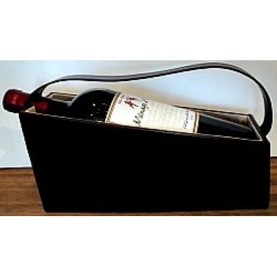 Boitier de rangement et de transport pour bouteille de vin