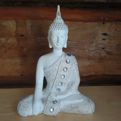 Bouddha thai blanc