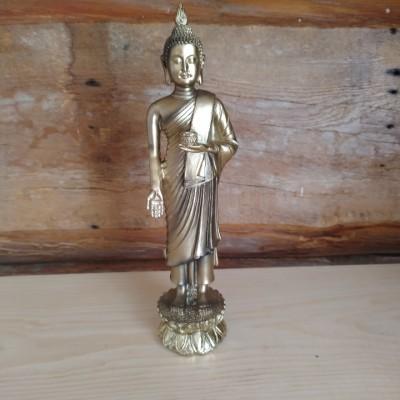 Bouddha thaï debout offrande or