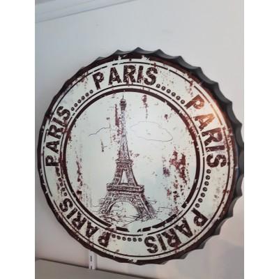 Cadre métal tour Eiffel Paris