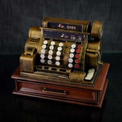 Caisse enregistreuse décorative vintage