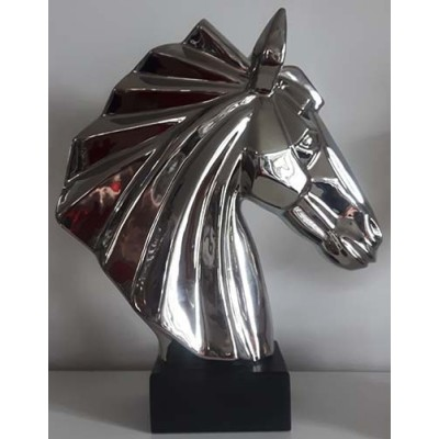 Cheval tête stainless
