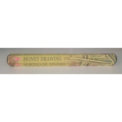 Encens bâtonnets money drawing