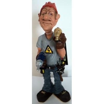 Figurine électricien