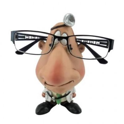 Figurine optométriste porte-lunette