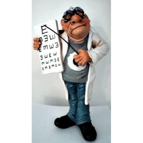 Figurine optométriste