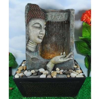 Fontaine bouddha figure et main