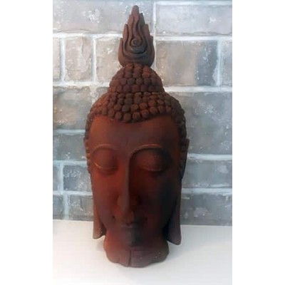 Grande tête bouddha vintage