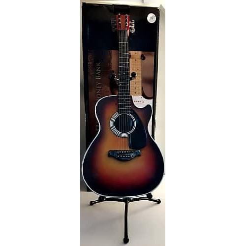 Guitare sunset décorative