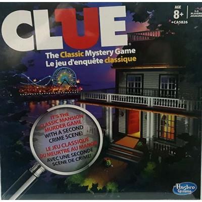 Hasbro Clue jeu d'enquête (double)