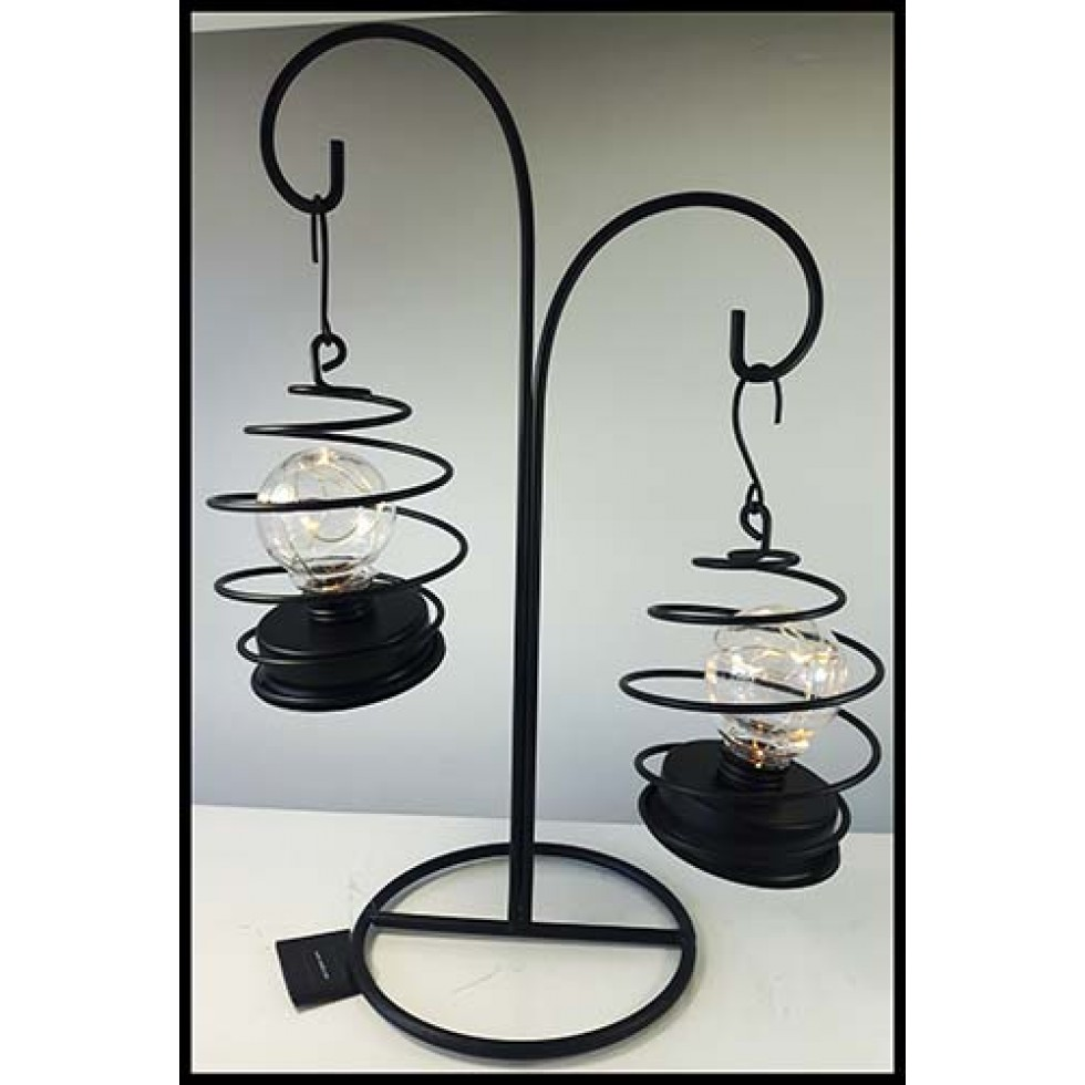 Lanternes suspendues lumières del double