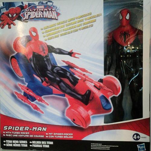Marvel ultimate spider man avec voiture