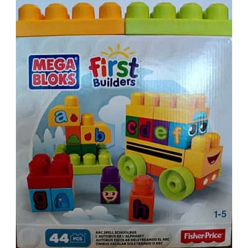 Mega bloks first builders autobus de l'alphabet
