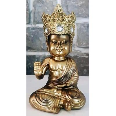 Moine tibetain enfant protection or diamant