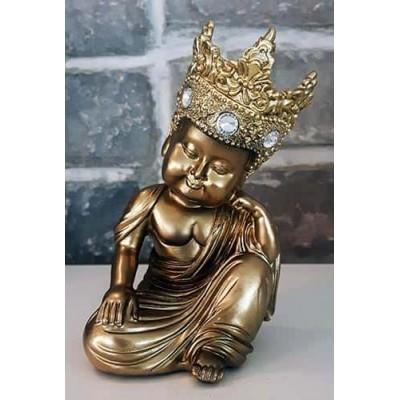 Moine tibetain enfant repos or diamant