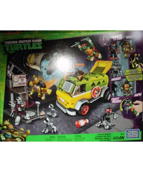 Teenage mutant ninja turtles lego mega block