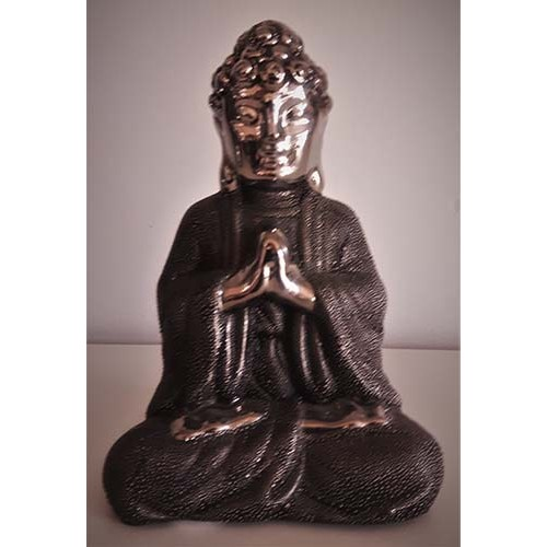 Bouddha Thaï prieur stainless et noir