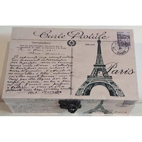 Petite boite décorative Paris