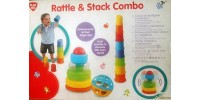 Play go rattle  & stack combo