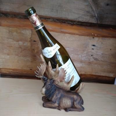 Porte-bouteille de vin décoratif orignal