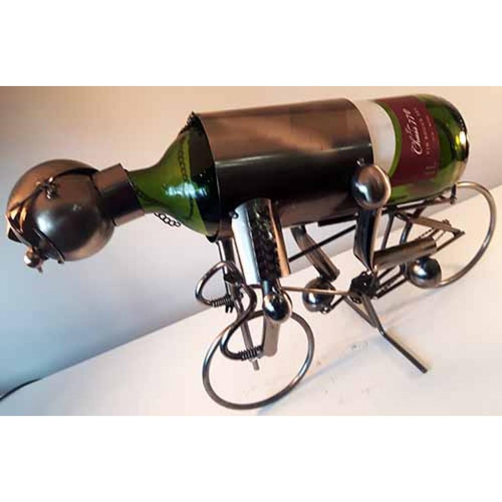 Bouteille De Vin Cycliste - Porte bouteille de vin