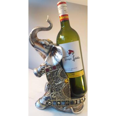 Porte-bouteille de vin éléphant