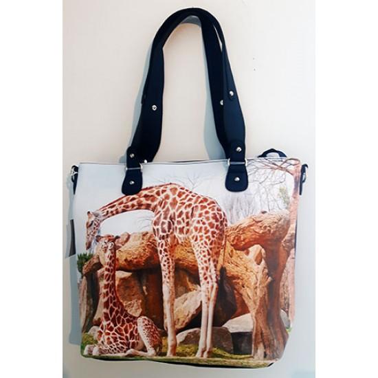 Sac à main girafe