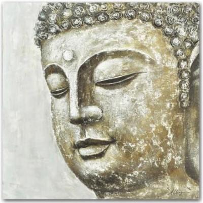 Toile bouddha sur canvas