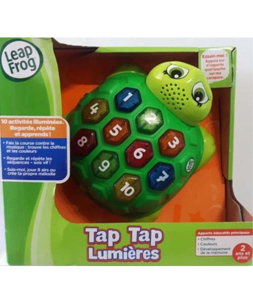 Leap frog tortue musicale
